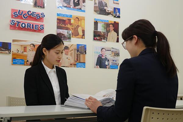 2019年度留学生就職内定率100%